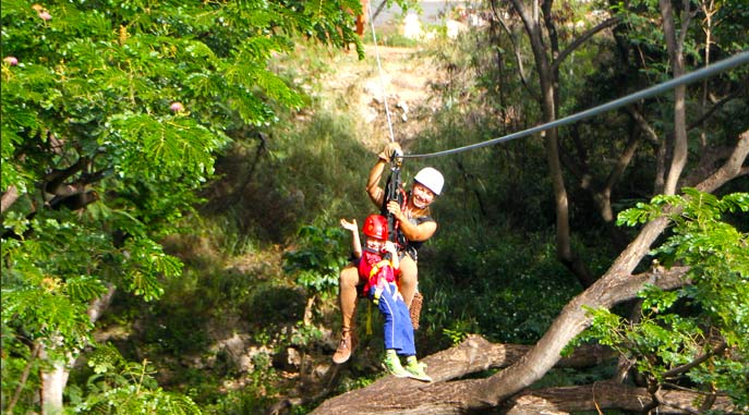 Tips for Ziplining with Kids