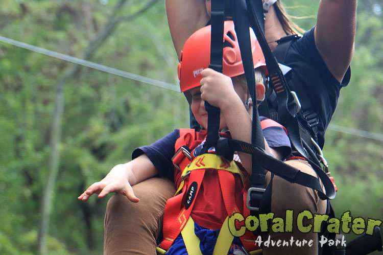 Coral Crater Zipline Combination Tours