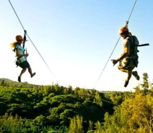 Enjoy the beauty of Oahu's North Shore at CLIMB Works at Keana Farms