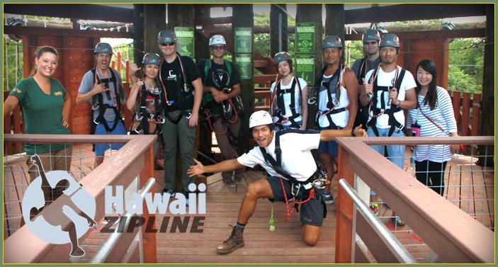contact Hawaii Ziplines