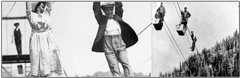 History of Ziplining