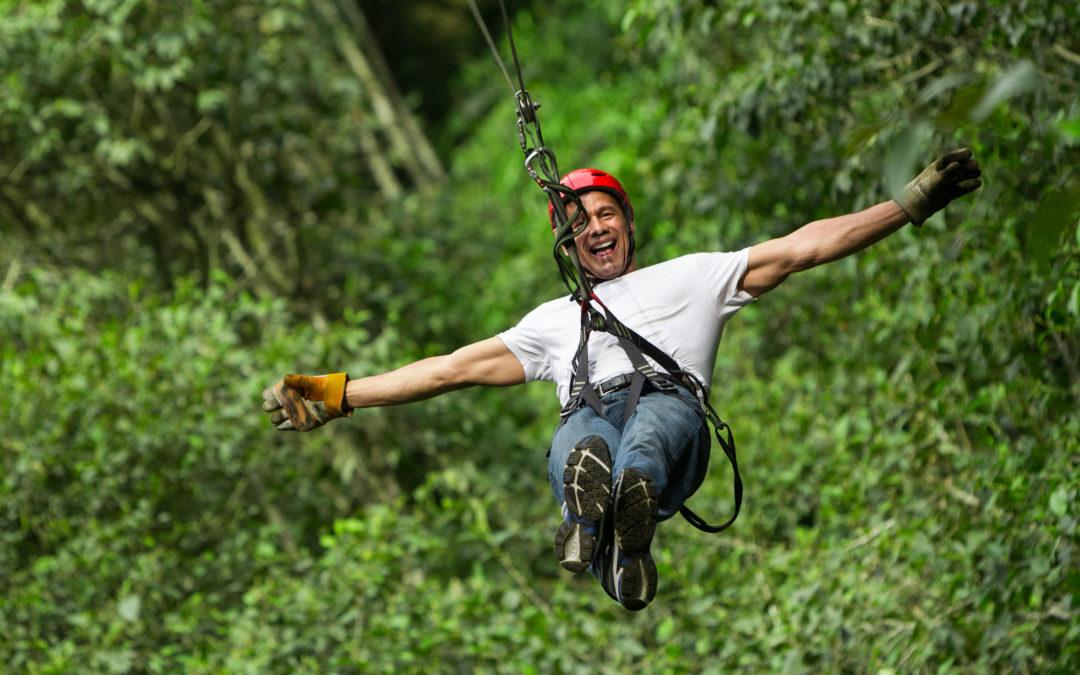 Six Ziplines, One Grand Adventure